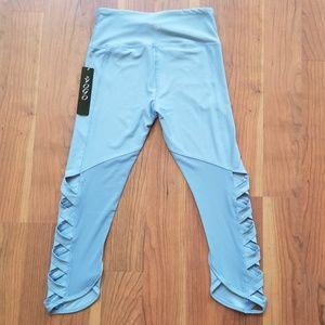 Vogo Athletica Leggings Lt Blue Small 2802126